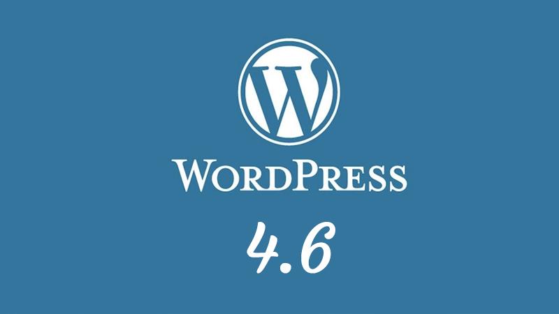 Nieuw: WordPress 4.6
